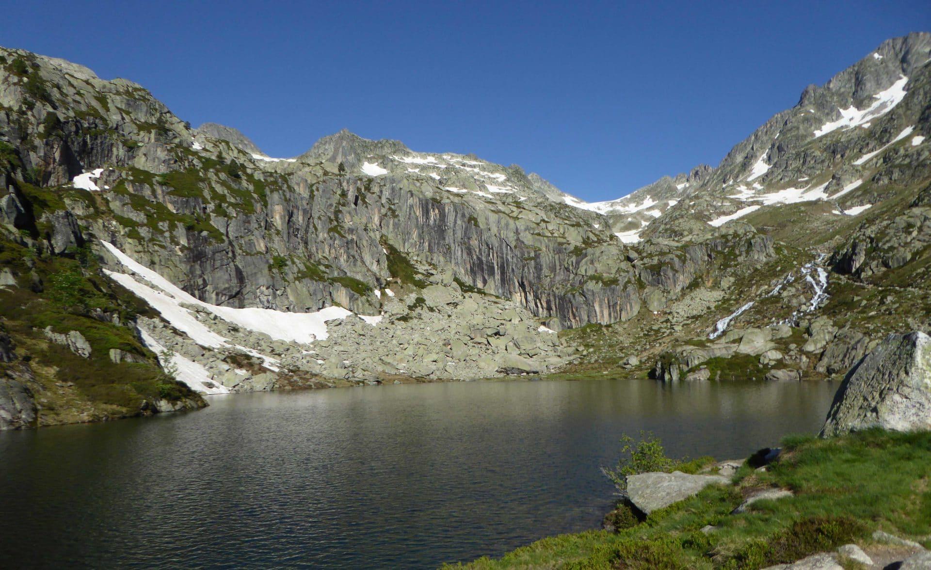 Le lac supérieur de l'Embarrat