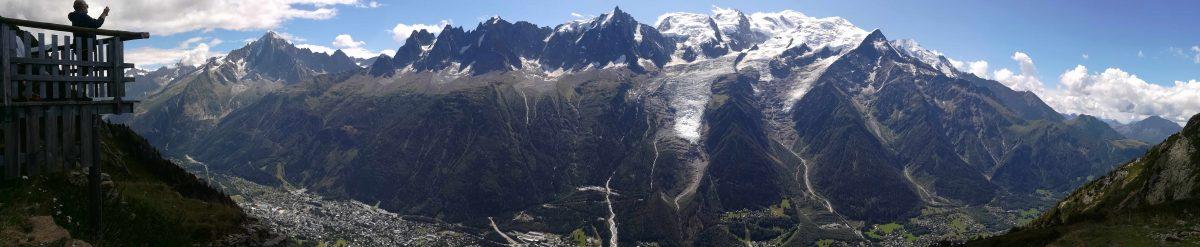 Massif du Mont-Blanc et vallée de l'Arve
